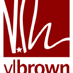 Logo: vlbrown prints multiples and graphics.